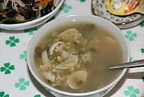 绿豆百合粥的做法