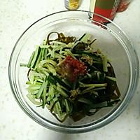 凉拌黄瓜海带丝的做法图解6