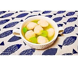 虾滑丸子汤的做法