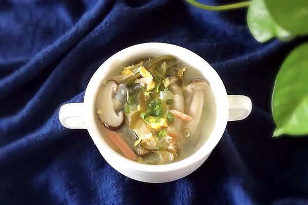 海带鸡蛋汤的做法