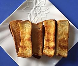 蜂蜜黄油吐司条的做法