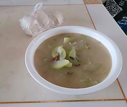 冬瓜海米汤的做法