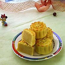 奶香黄金月饼#暖秋美食#