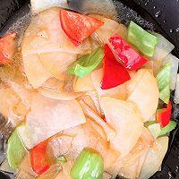 尖椒炒土豆片的做法图解5