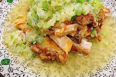 不一样的葱油鸡——脆皮葱油鸡