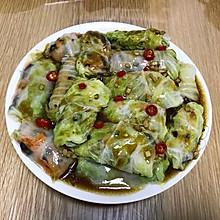 翡翠白玉卷(白菜肉卷)