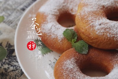无需烤箱,也能制作出外脆内软的甜甜圈