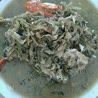 黄花鱼炖咸菜