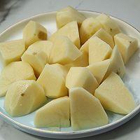 五花肉土豆芸豆炖的做法图解4