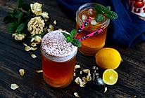 fluff棉花糖之简易奶盖冰红茶#有颜值的实力派#的做法