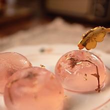 #美食视频挑战赛#能吃的水晶球-日式小吃【水信玄饼】精美