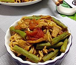 豇豆鸡丝焖面——利仁电火锅DHG-263A试用菜谱之三的做法