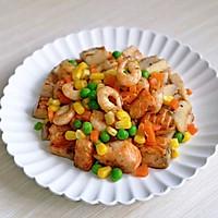 山葵木鱼花三文鱼沙拉#花10分钟,做一道菜!#的做法图解13