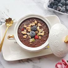 快手早餐——可可香蕉燕麦碗#晒出你的团圆大餐#