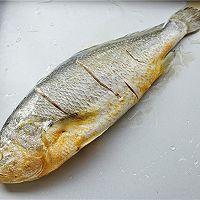永远吃不够的烤黄花鱼的做法图解3