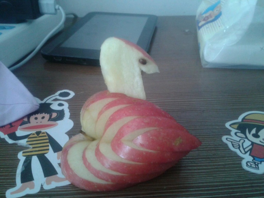 苹果天鹅的做法