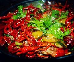 干锅香辣小龙虾的做法