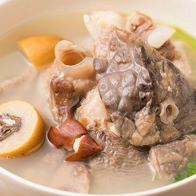 【青橄榄猪肺汤】四月必喝良汤,生津止咳有方!