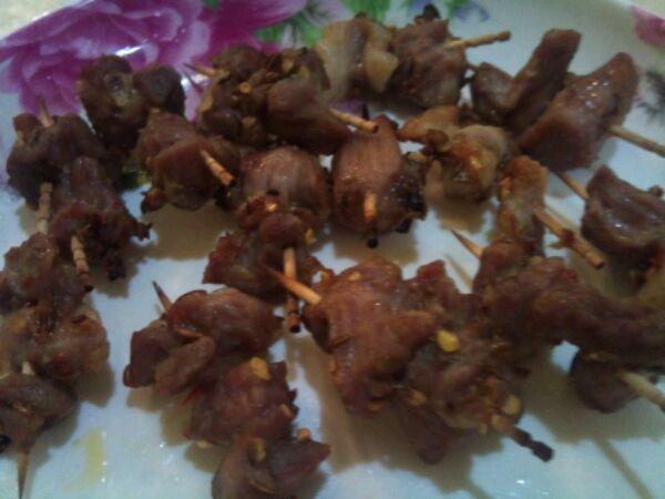 羊肉串(牙签烤肉)