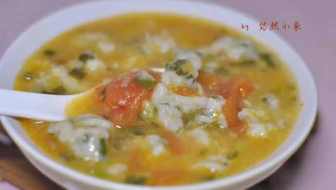 冬日暖汤——小葱疙瘩汤
