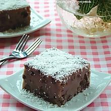 椰香红豆糕