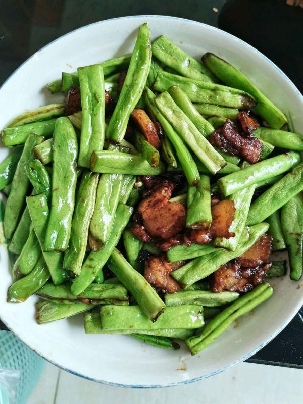 四季豆炒肉的做法