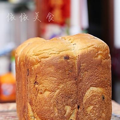 红糖红枣面包机吐司