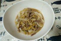 白菜肉丝炒年糕的做法