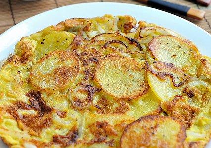 西班牙土豆煎蛋饼的做法