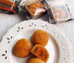 低糖莲蓉蛋黄广式月饼的做法