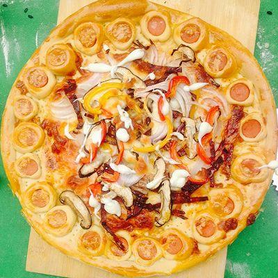 美味田园披萨