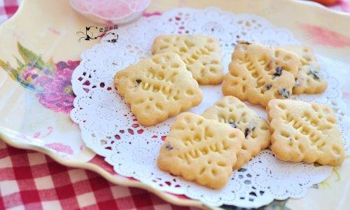 蓝莓饼干#我的烘焙不将就#的做法