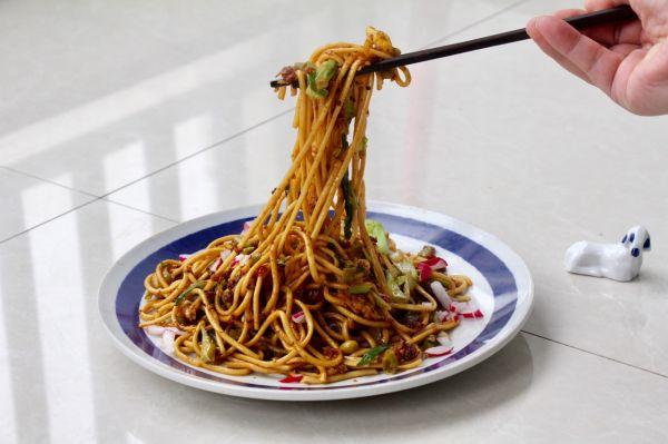 就好这口上海街头炒面•君蛤蜊家人气主食