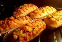 之香葱芝士面包#东菱魔力果趣面包机#的做法