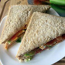 超级无敌瘦身早餐❀三明治