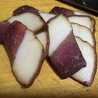 冬笋炒腊肉的做法图解5