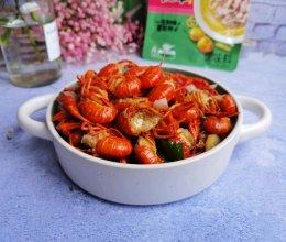 厨艺小白轻易搞定:没有料酒的酸辣龙虾 (家乐酸汤肥牛)的做法