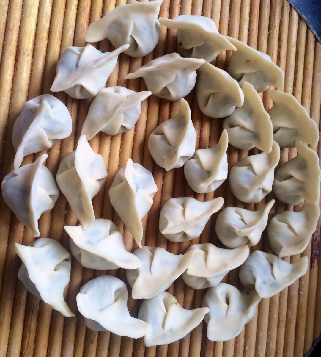 沙葱饺子的做法图解6