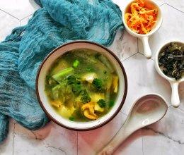 #全电厨王料理挑战赛热力开战!#紫菜海米冬瓜豆腐汤的做法