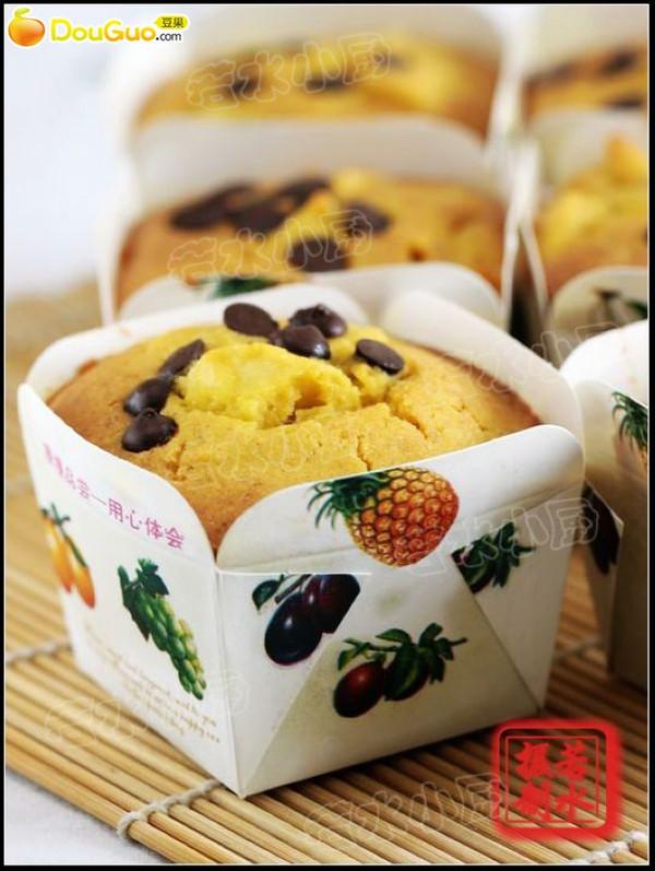 纯玉米苹果马芬蛋糕的做法