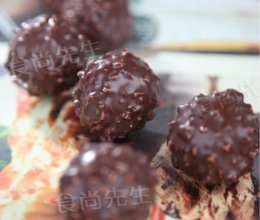 葡萄干巧克力松露的做法