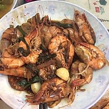 黑胡椒烧大虾