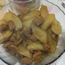 秋冬暖心菜之白萝卜烧肉