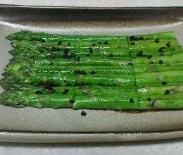 花椒芦笋的做法