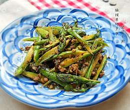 春季必吃~橄榄菜炒芦笋的做法