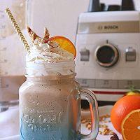 BOSCH维他汲享高速搅拌机评测食谱-橙香巧克力奶昔的做法图解22