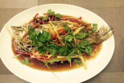 【鱼小厨:蒸】清蒸桂鱼 新手易学的大菜