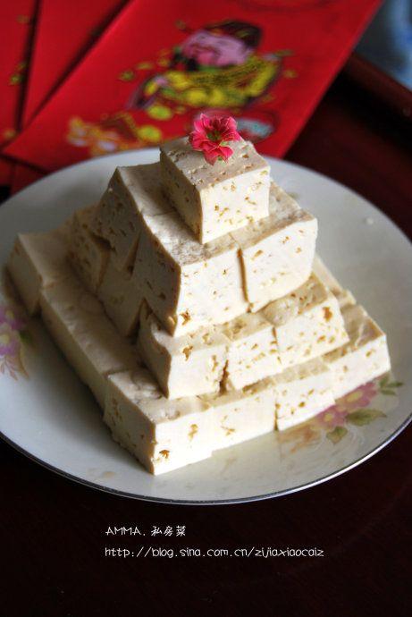 清拌豆腐的做法
