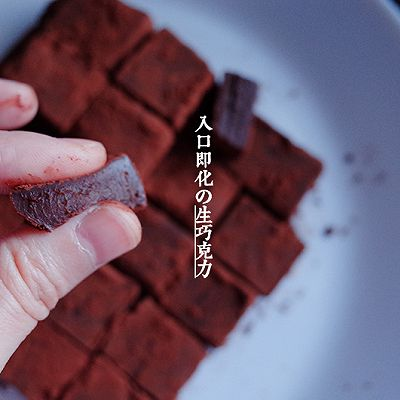 【小嶋rumi】生巧克力——简单到难以想象,好吃到难以想象