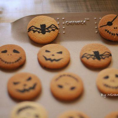 万圣节涂鸦饼干